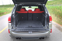 bmw x5m trunk open