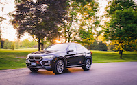 bmw x6 sunset