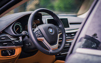 bmw x6 steering wheel 2015