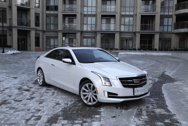 2015 cadillac ats coupe white