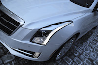 2015 cadillac ats coupe white led hid lights