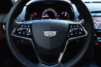2015 cadillac ats coupe new badge and steering wheel