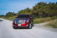 2015 cadillac escalade red