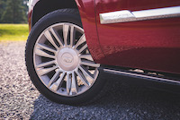 cadillac escalade platinum 22-inch wheels