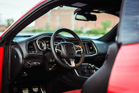 dodge challenger scat pack interior