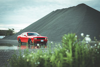 dodge challenger scat pack red