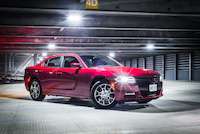 dodge charger red
