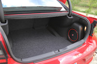 dodge charger beats audio subwoofer