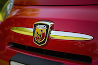 abarth front badge