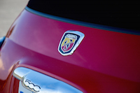 abarth rear badge
