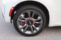2015 fiat 500 16-inch hyper black wheels