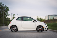 2015 fiat 500 side profile