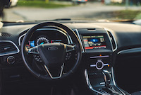 2015 ford edge sport interior