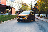 ford edge sport yellow