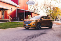ford edge sport electric spice