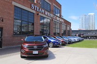 2015 ford edge steam whistle brewery