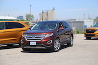 2015 ford edge parking