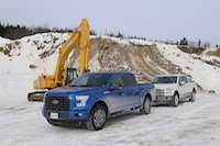 2015 ford f-150 quebec charlevoix offroading course
