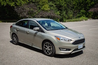 ford focus 1.0 sedan tectonic silver