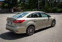 ford focus sedan tectonic silver