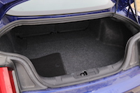 ford mustang ecoboost trunk cargo