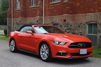 ford mustang gt convertible 50th anniversary appearance package