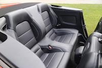 ford mustang gt convertible rear seats