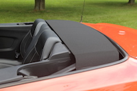 ford mustang gt convertible roof down