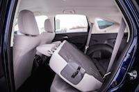 honda cr-v rear seats folded