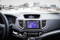 honda cr-v se dual display