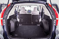 honda cr-v folded seats