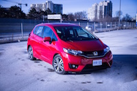 2015 honda fit ex milano red