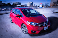 2015 honda fit milano red