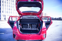 2015 honda fit trunk room