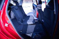 2015 honda fit rear 60/40 fold seats