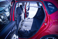 2015 honda fit seats folded flat