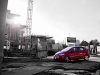2015 honda fit ex red