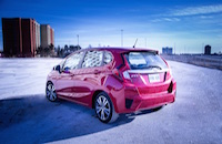 2015 honda fit rear