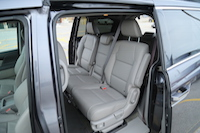 2015 honda odyssey touring second row seats