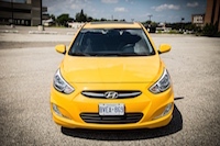 2015 hyundai accent sunflower yellow