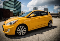 2015 hyundai accent subcompact hatch