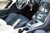 hyundai genesis coupe r-spec manual gear shifter