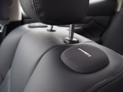 infiniti q70 bose speakers 16 on seats