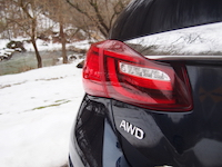2015 Infiniti Q50 3.7 AWD badge