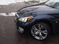 2015 Infiniti Q50 3.7 AWD Blue tires wheels