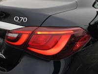 infiniti q70 rear badge