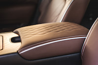 infiniti qx80 limited quilted leather