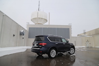 2015 infiniti qx80 water tower