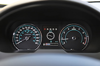 jaguar xf analog gauges