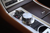 jaguar xf rotary gear shifter